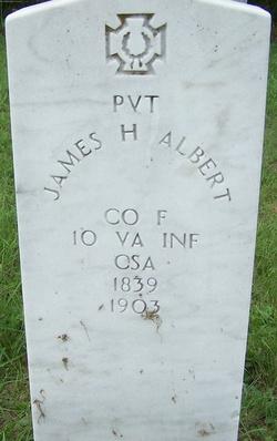 Pvt James H Albert