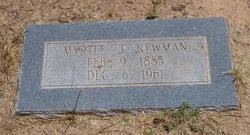 Myrtle J Newman