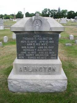 Ann Emily <i>Lydston</i> Adlington