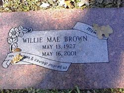 Willie May <i>Gilmore</i> Brown