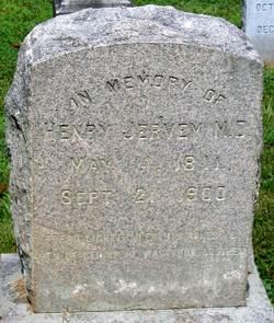 Dr Henry Dickson Jervey