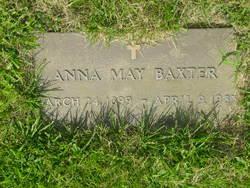 Anna May <i>Walton</i> Baxter