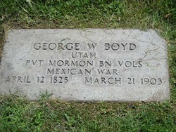 Pvt George Washington Boyd