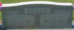 Myrtle <i>Weathers</i> Adams