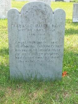 Clarissa Elizabeth <i>Davis</i> Adams