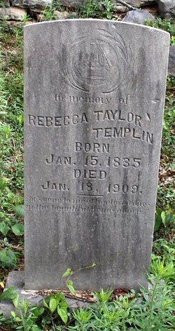 Rebecca <i>Taylor</i> Templin