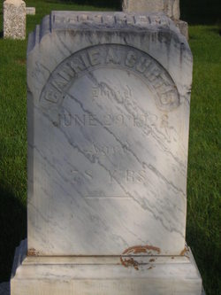 Carrie A. <i>Palmer</i> Curtis