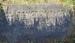Clarence W Baker