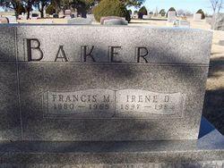 Irene D Baker