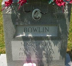 Margaret Milly Ann <i>Winger</i> Bowlin