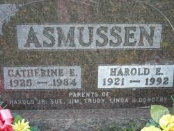 Catherine Elizabeth <i>Kunz</i> Asmussen