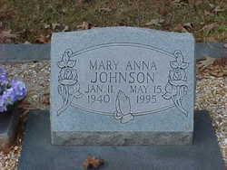 Mary Anna <i>Marchman</i> Johnson