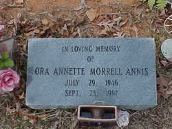 Ora Annette <i>Morrell</i> Annis