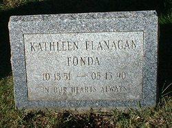 Kathleen <i>Flanagan</i> Fonda
