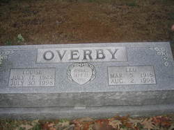 Mildred Louise <i>Buie</i> Overby