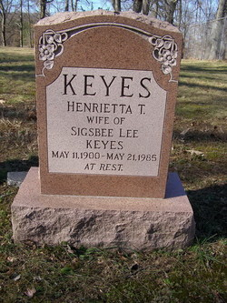 Henrietta Etta <i>Tapscott</i> Keyes