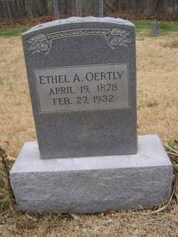 Ethel A. Oertly