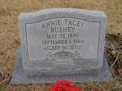 Annie <i>Tacey</i> Bushey