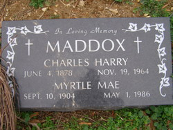 Charles Harry Maddox