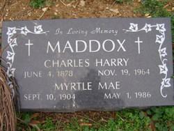 Myrtle Mae Maddox