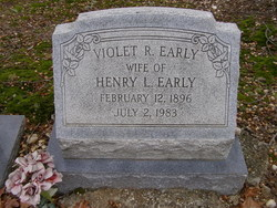 Violet R. Early