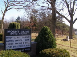 Mount Olive Baptist Cemetery