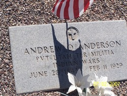 Andrew Ole <i>Oleson</i> Anderson