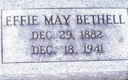 Effie May <i>Cotter</i> Bethel