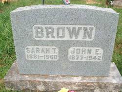 Sarah F. <i>Hobbs</i> Brown