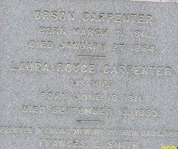 Laura <i>Royce</i> Carpenter