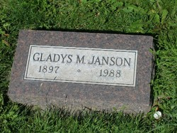 Gladys Mae <i>Girsberger</i> Janson