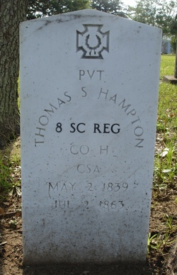 Pvt Thomas S Hampton