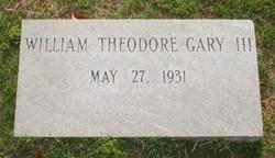 William Theodore Gary, III