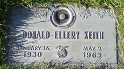 Donald Ellery Keith