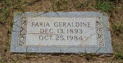 Faria Geraldine Campbell