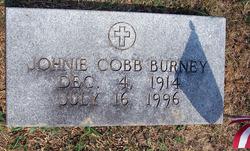 Johnie Oliva <i>Cobb</i> Burney