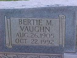 Bertie M <i>Vaughn</i> Brown
