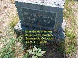John Marion Hanners