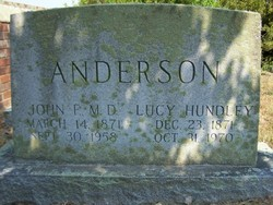 Lucy <i>Hundley</i> Anderson