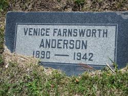 Venice Caroline <i>Farnsworth</i> Anderson