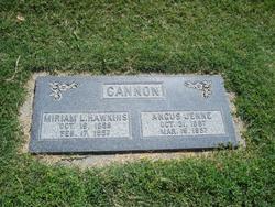 Miriam Lavinia <i>Hawkins</i> Cannon