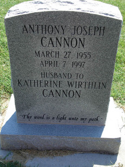 Anthony Joseph Tony Cannon