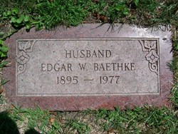 Edgar W Baethke