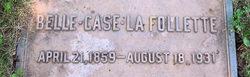 Isabelle Belle <i>Case</i> La Follette