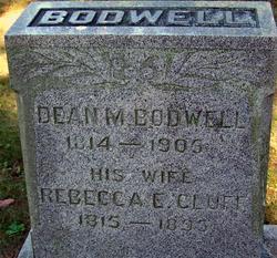 Rebecca Eleanor <i>Cluff</i> Bodwell
