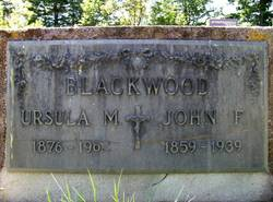 Ursula M. <i>Schlegel</i> Blackwood