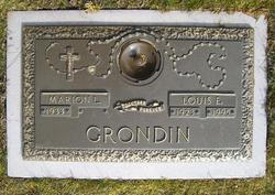 Louis Edward Grondin, Sr