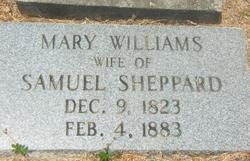 Mary Polly <i>Williams</i> Sheppard