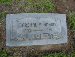 Marshal Floyd Adams