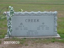 Garnet L Creek